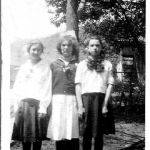 Virginia Taylor, Hattie Rodgers and Catherine Hall