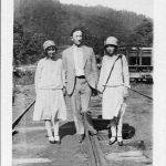 Virginia Taylor, Joe Hatfield and Elizabeth July 4, 1927