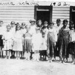 Yuma School 1922 - last day of school