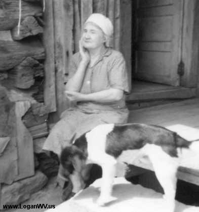 Photo of Myrtle Thompson 1970s