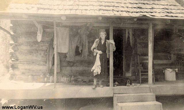 Photo of Myrtle Adams Thompson, Harts Creek, WV