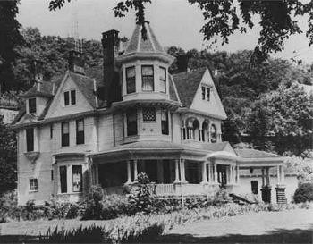 The Historical Hinchman House Logan Wv History And