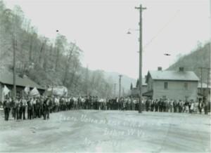 Photo of Kentucky Row in Dehue WV