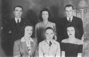 Photo of the Bernie Brumfield Family