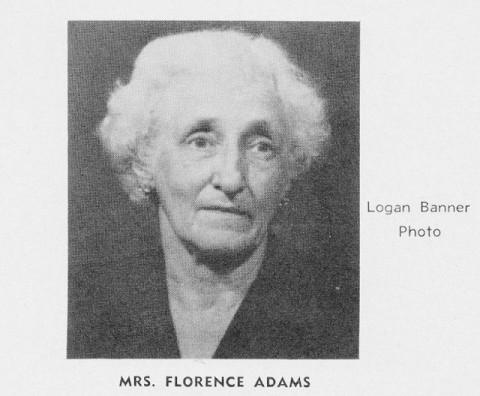 Mrs. Florence Adams
