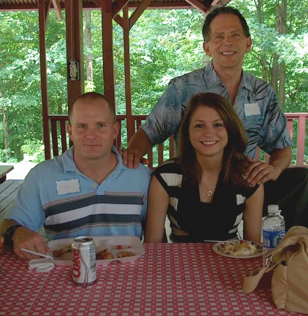 Robert, Robb & Olivia at Reunion in Ashland, KY