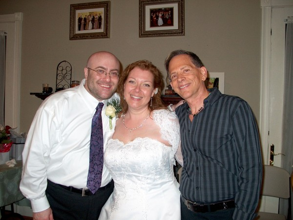 My daughter's Wedding -Jeff, Michelle, Me