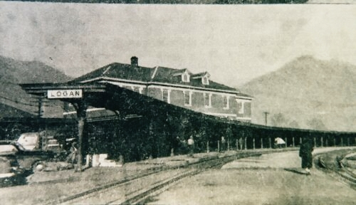 Old Logan, WV Train Station