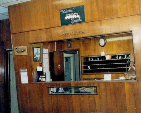 Aracoma Hotel Front Desk courtesy of Dawn Bailey