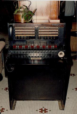 Aracoma Hotel Switchboard