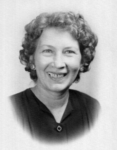 Virginia McCormack in 1952