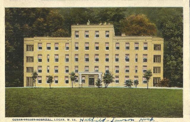 Logan General Hospital demolished in 1975