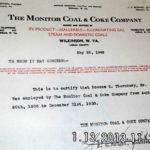 Roscoe Thornbury Letter