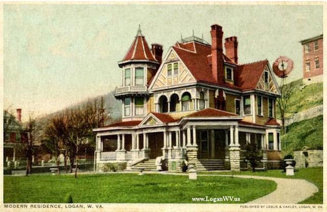 Hinchman Home Postcard