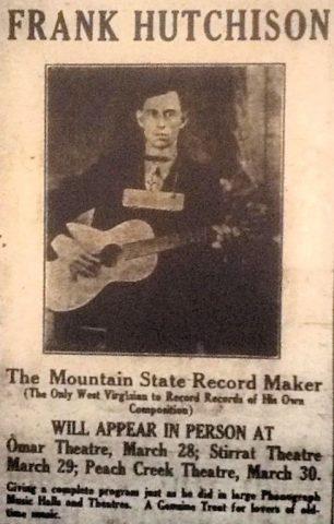 Frank Hutchinson, Logan Banner, 25 March 1927