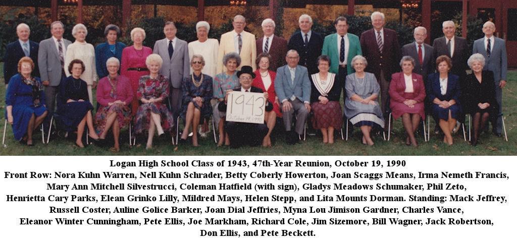 LHS Class of 1943, 1990 Reunion