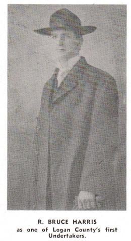 R. Bruce Harris, Harris Funeral Home, 1952