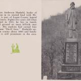 Captain Anderson Hatfield Monument, March 1955, Tracks Magazine, Page 15