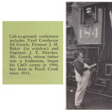 Ed Gooch and J. T. Fletcher, March 1955, Tracks Magazine, Page 11