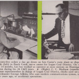 Leo Carter, C. C. Madison and George Adkins, Peach Creek, WV, March 1955, Tracks Magazine, Page 12