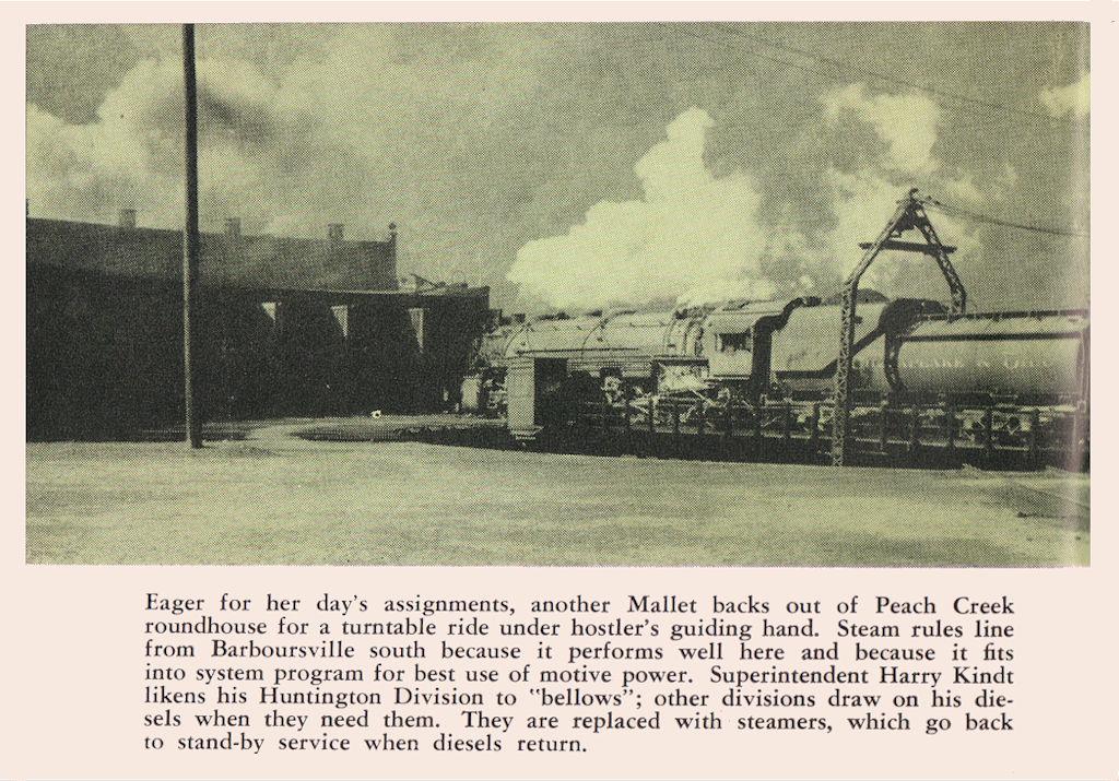 Peach Creek, WV March 1955, Tracks Magazine, Page 10