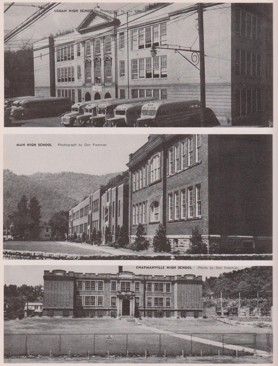 1952 Logan County High Schools