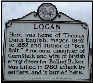 Logan Historic Marker