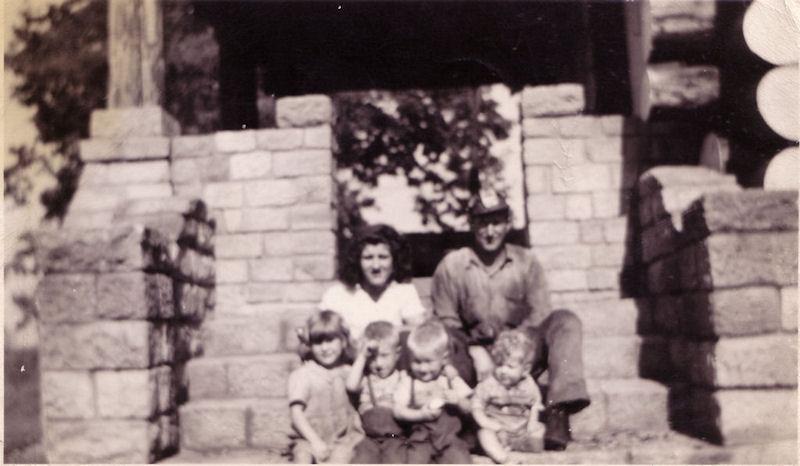 Burgess Family, Blair Mountain, Logan County WV