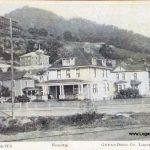 1909 Logan, WV Public School and Hospital Postcard