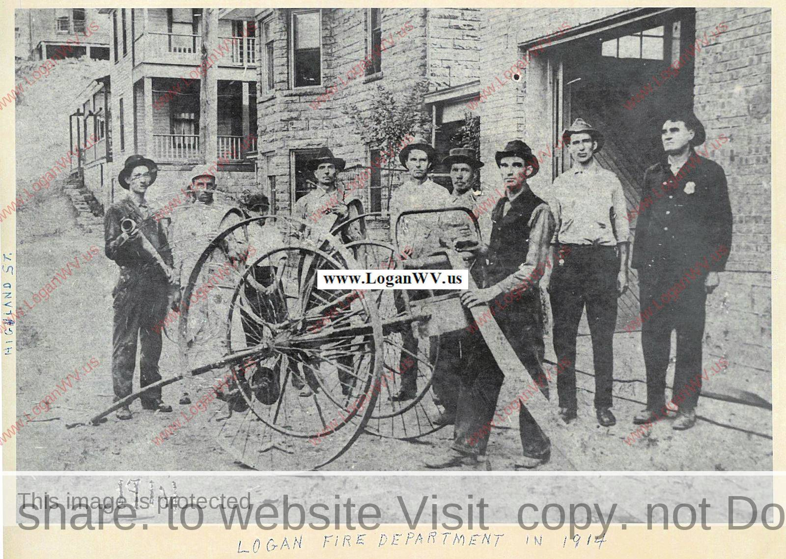 1914 Logan, WV Fire Department
