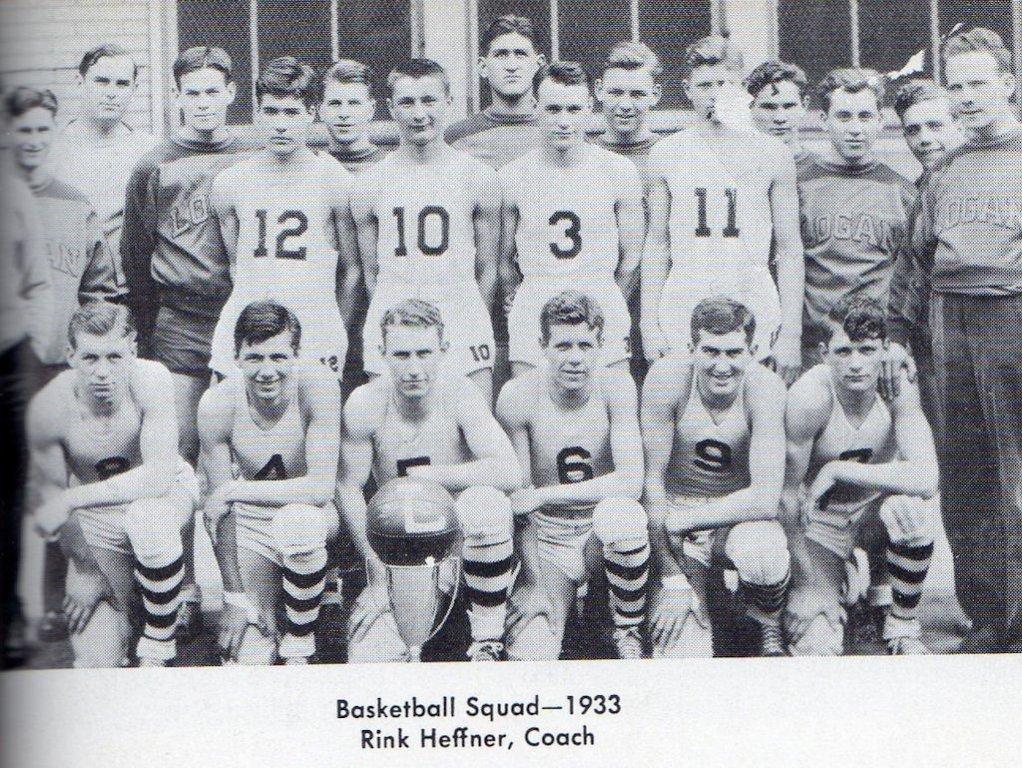 1933 LHS Basketball Squad