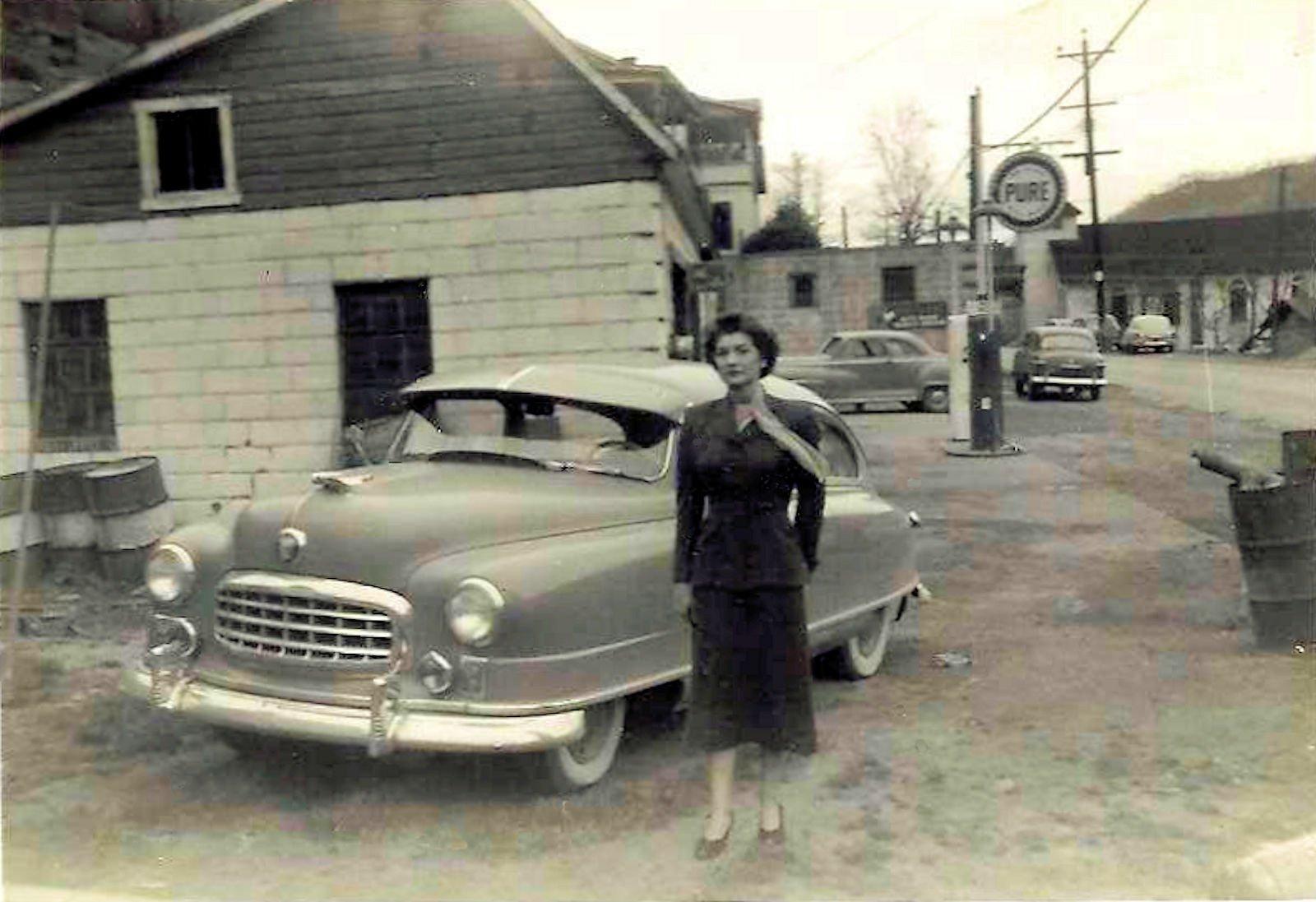 1949 Photo of Betty Workman