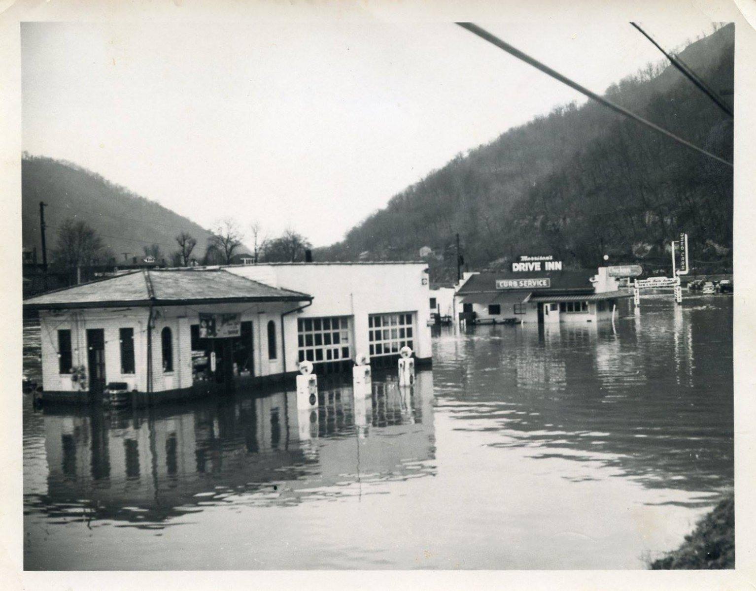 1950s Logan County, WV Flooding
