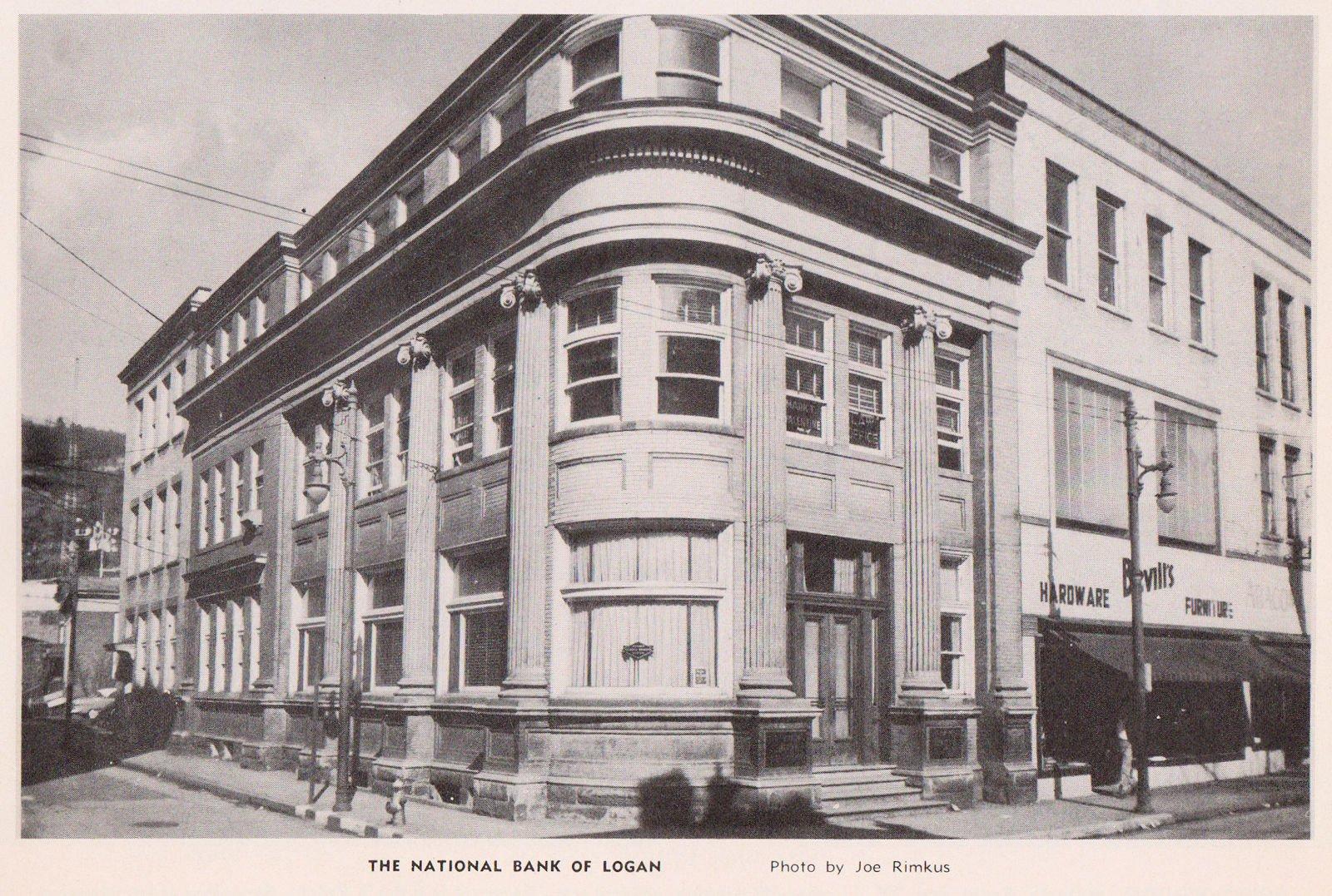 1952, The National Bank of Logan