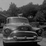 1953 Buick at house of Archie Smith at Rt. 10 Mitchel Heights, coutesy of Ralph McNeely