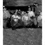 1956, Hugh Dingess and fellow miners