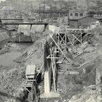 Island Creek Retaining Wall, Power Plant, Logan, WV, Aug. 14, 1937