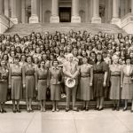 Logan County Girl Scouts Educational Tour, Washington, D.C. 21 April 1948