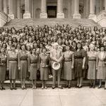 Logan County Girl Scouts Educational Tour, Washington, D.C. 21 April 1948