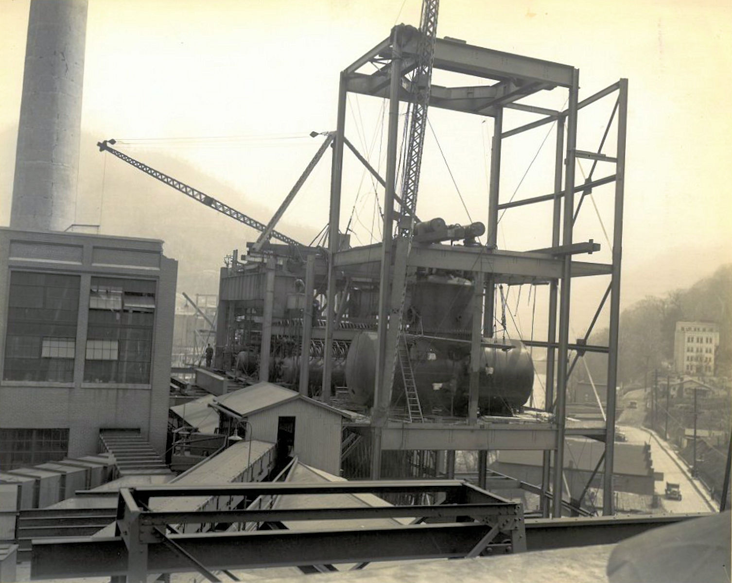 Logan, WV Power Plant and Hospital