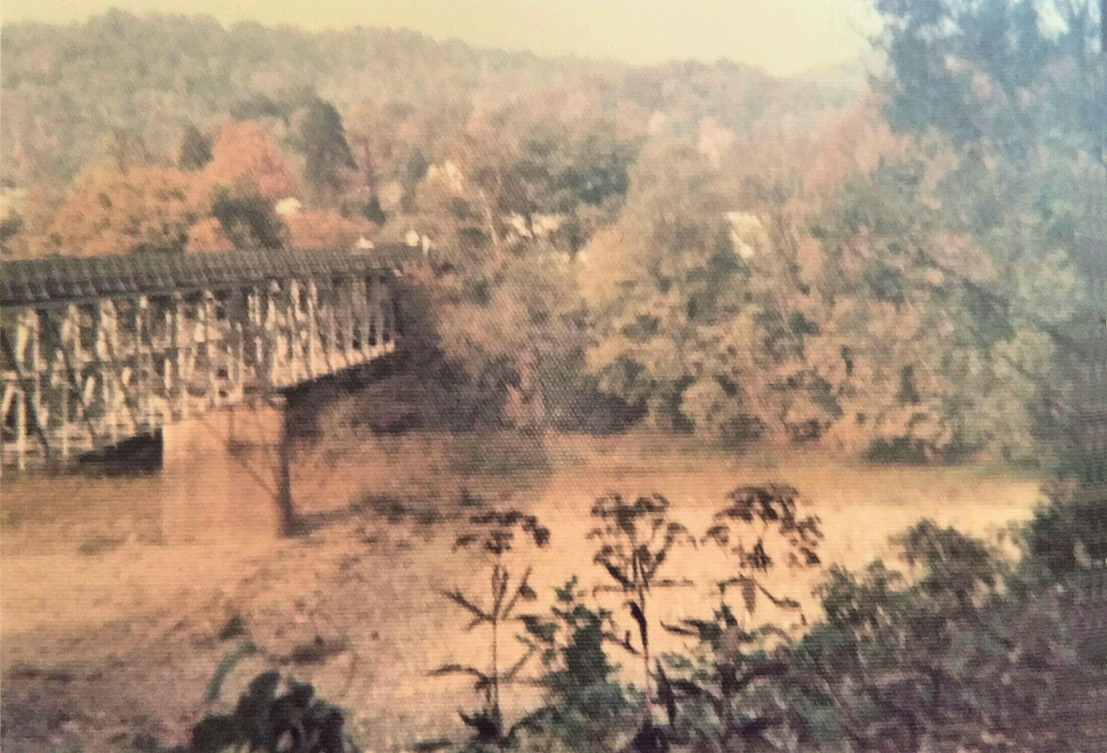 Pecks Mill Bridge, Logan County, WV