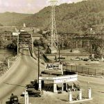 The Triangle Service Station, Logan, WV