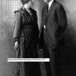 Alonzo Bowling (father of Alice and Lizzie Bowling) with wife, Minnie of Hitchens, KY