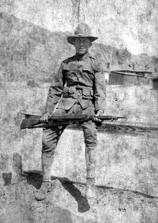 Alonzo Clyde Taylor.  WW 1