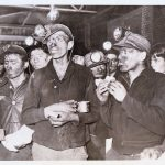 AP Photo March 11, 1937 Macbeth Mine rescuers