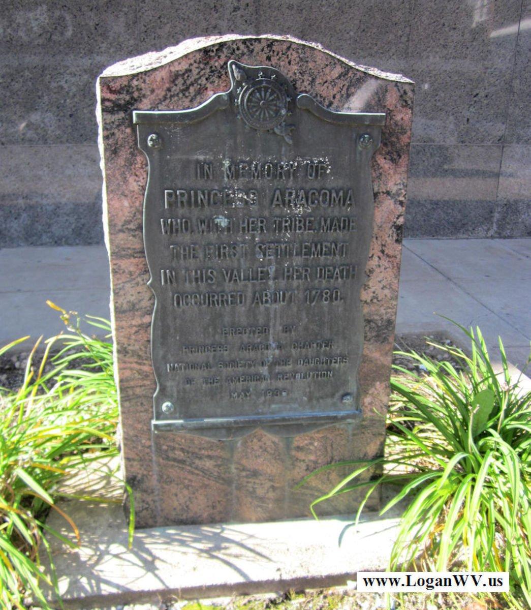Aracoma Historical Marker, Court House, Logan, WV