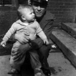 Archie Augustine with son