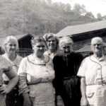 Barbara Long, Lena Browning-Smith,.Esther Smith,Gladys Smith-McClung, Perlina-granny- Browning, and last Rosoe Long's mother