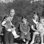1930s Bijah Taylor holding son, Billy, Louis and Elizabeth holding son George.