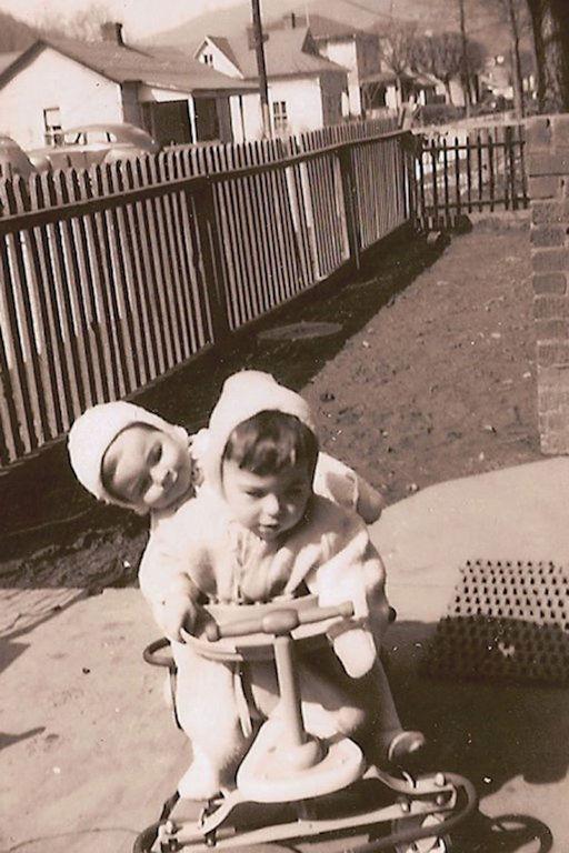 Bobby Piros and Jim Porter 1947